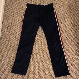 Tommy Hilfiger men custom fit strip pants